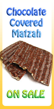 Chocolate Covered Matzah