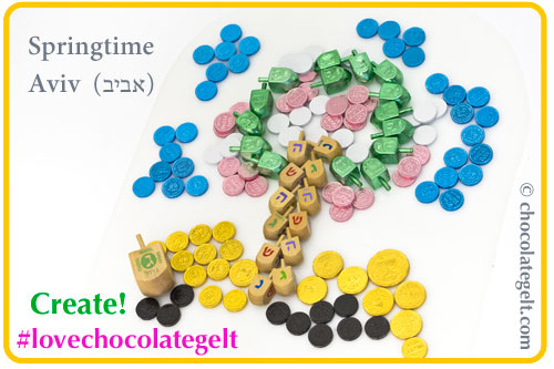 Chanukah supplies at Chocolategelt.com #geltart
