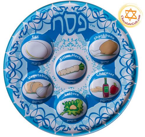 sc 1 st  Chocolategelt.com & Plastic Seder Plate (BB) (PACK of 10)