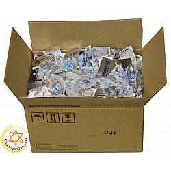300 Blue and Silver Bags Wholesale Milk Chocolate Coins Kosher OU Dairy