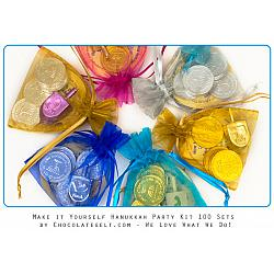 Make It Yourself Hanukkah Party Favors (100 sets)