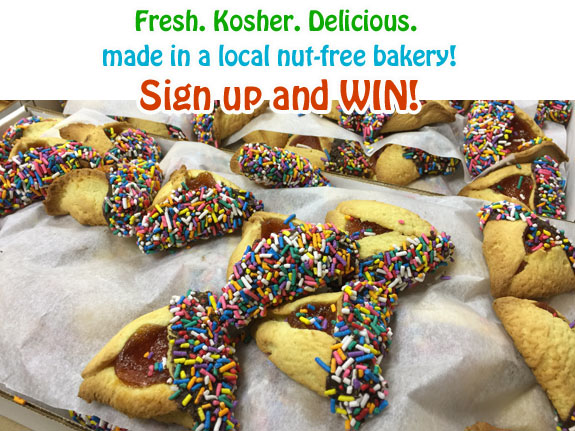 Win Prizes at Chocolategelt.com! Kosher Hamentashen, Macaroons, Gelt and more