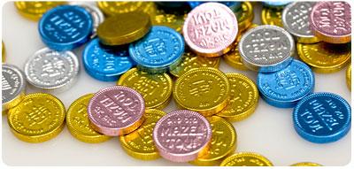 Chocolate Mini Mazel Tovs #minimazeltovs #chanukahgelt Free with Purchase